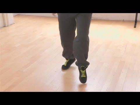 Элементы Хип-Хопа: шаг с твистом. Видео обучалка.