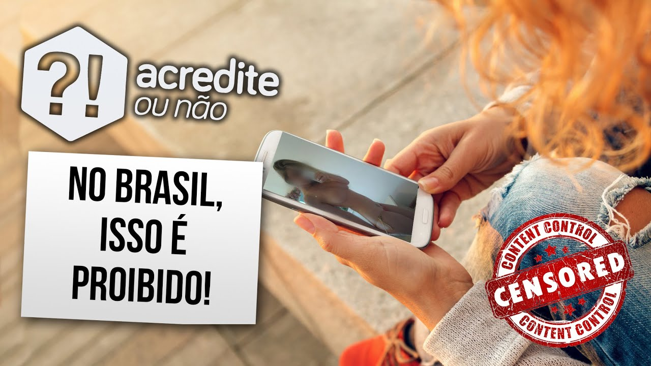 Coisas proibidas no Brasil que você não sabia