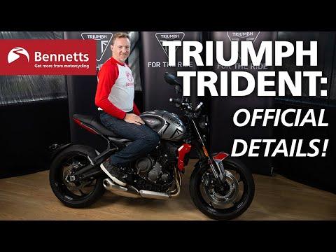 2021 Triumph Trident revealed | Engine start & details