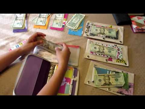 CASH ENVELOPES STUFFING AND SINKING FUNDS
