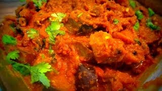 Brinjal curry (Kathirikai thoku) - in Tamil