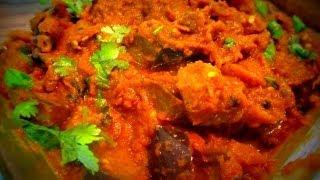 Brinjal curry (Kathirikai thoku) - in Tamil