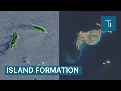NASA Satellites Captured The Formation of Hunga Tonga-Hunga Ha'apai