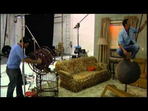Celebrity Latest News – Ty Pennington, Monkey Business on the set of TV Guides Photo Shoot