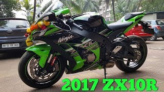 9. 2017 Kawasaki Ninja ZX10R Unboxing & Delivery | Welcome Home New Beast |