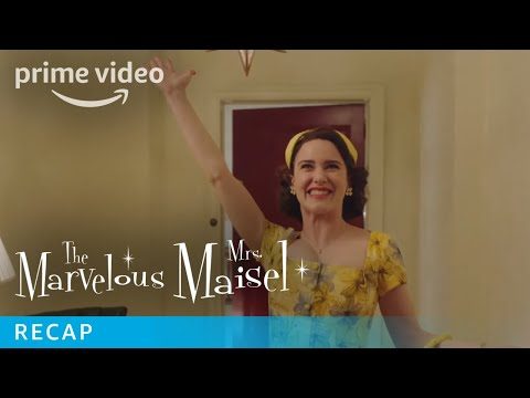 The Marvelous Mrs Maisel | Season 2 Recap | Prime Video