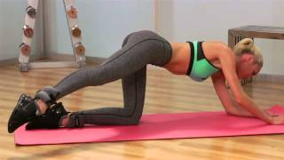 Angel Candice Swanepoel workout 2013