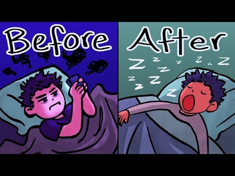 How To Fall Asleep FASTER - 3 Sleep LIFE HACKS