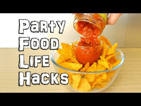 Party Food Life Hacks (видео)