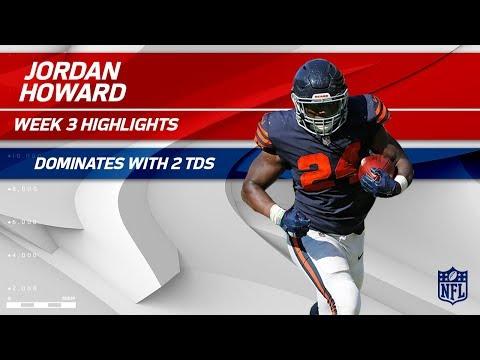 Video: Jordan Howard's 138-Yard Day w/ 2 TDs! | Steelers vs. Bears | Wk 3 Player Highlights