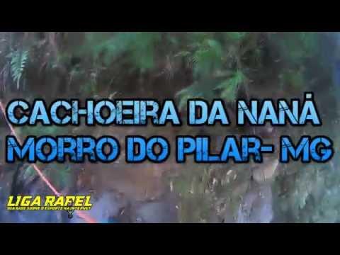 Exploratória - Rapel na Cachoeira da Naná - Morro do Pilar - MG - 90m
