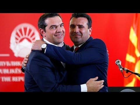 Α.Τσίπρας: Σημαντική μέρα για τα Βαλκάνια – Ζ. Ζάεφ: Γράφουμε συνεχώς ιστορία με την Ελλάδα…