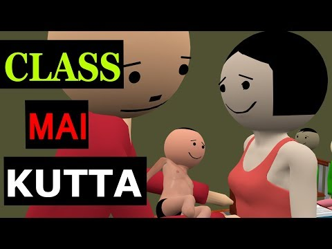 CLASS MAI KUTTA | CS Bisht Vines | School Classroom Comedy | Teacher Student Jokes