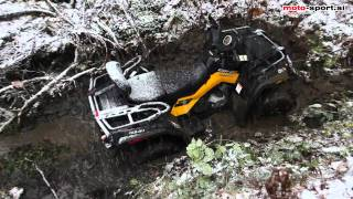 9. Can-am Outlander 800r Max XT-P