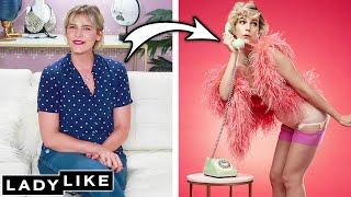 We Transform Into Pinup Models • Ladylike