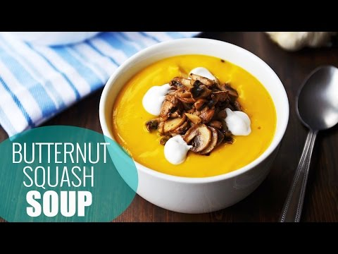 Best Butternut Squash Soup Recipe | Vegan Holiday Recipes