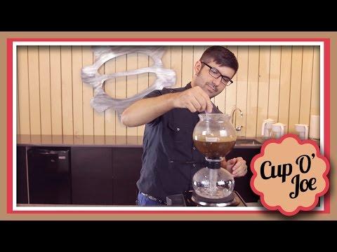 Having Fun With A Siphon Coffee Pot! | Cup O' Joe