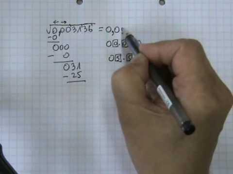 Vídeos Educativos.,Vídeos:Raíz cuadrada 8