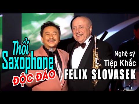 Thổi Saxophone - Nghệ sỹ Tiệp Khắc Felix Slovasek - Vân Sơn 46 - Thời lượng: 5 phút, 11 giây.