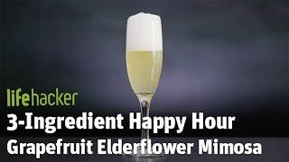 Delicious Cocktail — Grapefruit Elderflower MimosaSubscribe to Lifehacker:  https://goo.gl/3rNmzw Visit us at: http://www.lifehacker.com/Like us at: https://www.facebook.com/lifehackerFollow us at: https://twitter.com/lifehackerListen at: https://soundcloud.com/lifehacker Watch more from Fusion friends:Fusion: http://fus.in/subscribeF-Comedy: https://goo.gl/Q27Mf7Fusion TV: https://goo.gl/1IbZ1BGizmodo: https://goo.gl/YTRLAEKotaku: https://goo.gl/OcnXv7Deadspin:  https://goo.gl/An7N8gJezebel:  https://goo.gl/XNsnCJIo9:  https://goo.gl/ismnzPJalopnik:  https://goo.gl/u7sDEkSploid:  https://goo.gl/4yq2UYThe Root: https://goo.gl/QMOjBE