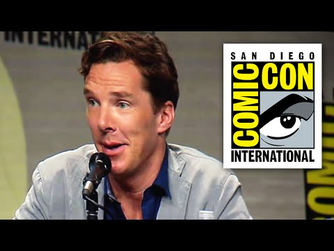 talks - Benedict Cumberbatch Talks Sherlock Series 4 and Playing Doctor Strange in a Marvel Movie at Comic Con 2014. Taken from Penguins of Madagascar Panel ▻ http://bit.ly/AwesomeSubscribe Marvel...