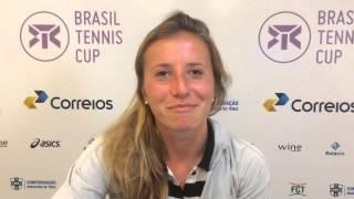 Annika Beck vence estreia no Brasil Tennis Cup