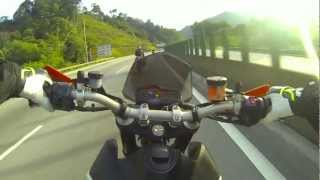 4. KTM Duke 690R - Karak breakfast ride