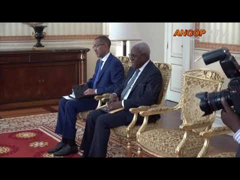 Presidente João Lourenço aborda actividade da GALP em Angola