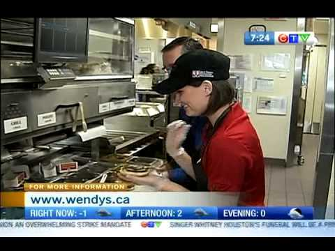 First Jobs - Wendy's - Sandwich Line
