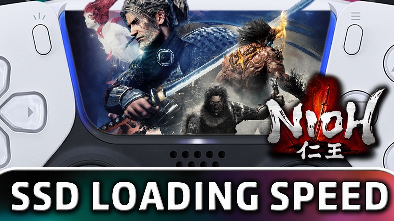 The Nioh Collection   First Look SSD Loading Speed on PS5