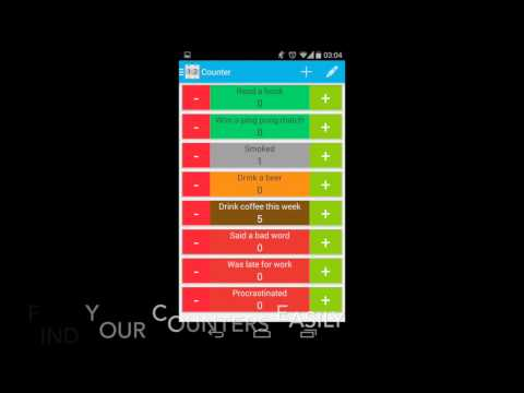 Video of Counter: Tally Counter