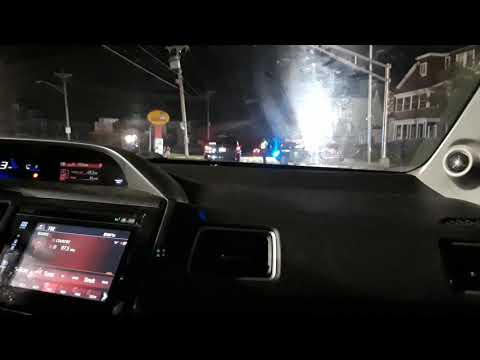 Driving around Lawrence, MA during the Gas Explosion