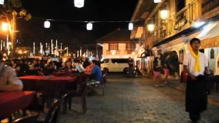 Vigan Philippines  city photos gallery : Vigan City, Ilocos Sur, Philippines at night [HD] 1080p