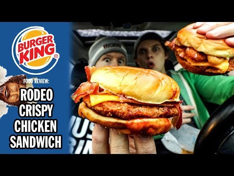 Burger King's RODEO Crispy Chicken Sandwich Food Review | Season 5, Episode 26