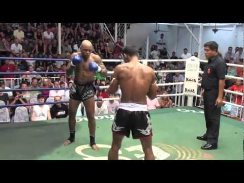 Cyrus Washington vs Johmhod - Pro Muay Thai Fight