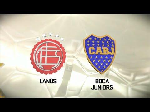 Lanús vs. Boca. Fecha 1. Torneo de Primera División 2016/2017. FPT