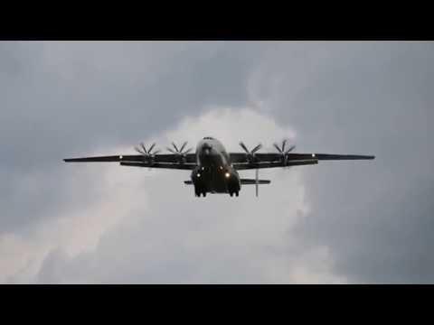 Ан-22 крупным планом: впечатляющий рев моторов