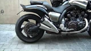 1. V-max 1700  Mega Max Exhaust