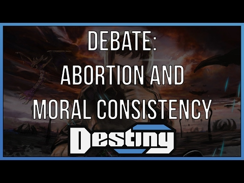 Debate: abortion and moral consistency (видео)