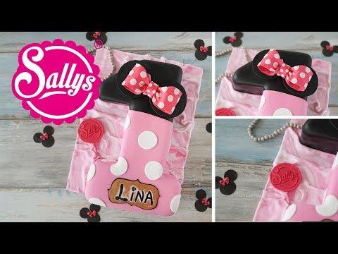 Geburtstagstorte Zahl 1 / Minnie Mouse Torte backen