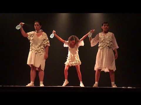caixa d'água no FESTU (видео)