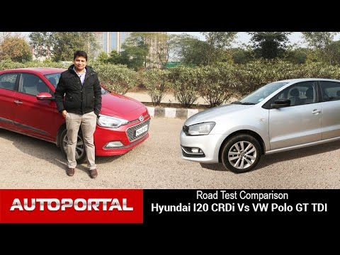 Volkswagen Polo Vs Hyundai Elite i20 Test Drive Comparison – Autoportal