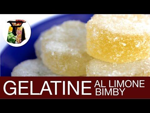 bimby - gelatine al limone