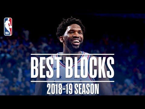Video: Joel Embiid's Best Blocks | 2018-19 Season | #NBABlockWeek