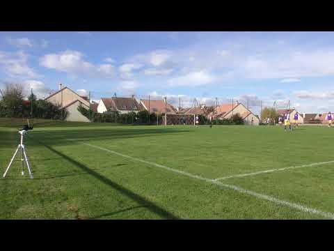 3ème but de Champs (3-0) lors du match Champs sur Marne contre Pommeuse (4-1) (05-11-2017)