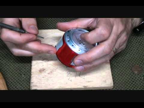 How to Make a Penny Can Stove