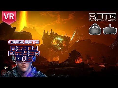 EXPLORE READY PLAYER ONE IN VIRTUAL REALITY! | Login to OASIS beta - Rise of the Gunters (Free)