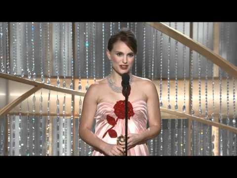 Natalie Portman Wins 2011 Golden Globes Best Actress (Complete)