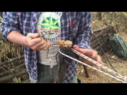 Tecniche di creazione nodi per tirare corde