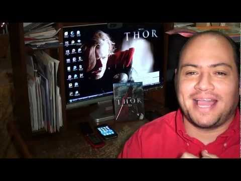 THOR BLURAY 3D UNBOXING